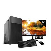 Computador Completo Corporate Asus I3 8gb Hd 2tb Dvdrw Monitor 19