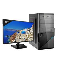 Computador Desktop ICC IV2382SWM19 Intel Core I3 3.20 ghz 8gb HD 1TB HDMI FULL HD Monitor LED 19.5 Windows 10