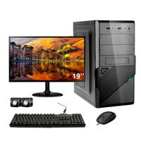 Computador Completo Corporate Asus I5 8gb 240gb Ssd Dvdrw Monitor 19