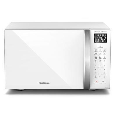 Micro-ondas De Mesa Panasonic Com 34 Litros De Capacidade Branco - Nn-st65lwrun - 110v