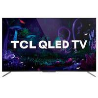 Smart Tv Tcl Qled Ultra Hd 4k 65'' Android Tv Com Google Assistant, Design Sem Bordas E Wi-fi- Ql65c715