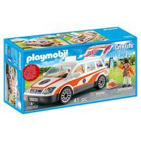 Playmobil, Carro De Emergência Com Sirene