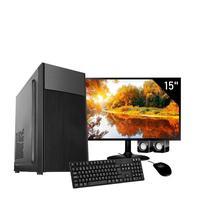 Computador Corporate I3 6gb de Ram Hd 2tb Kit Multimidia Monitor 15