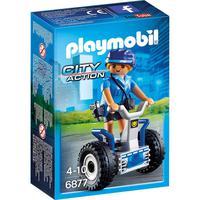 Playmobil Sunny, Polícia Feminina Com Segway 6877 - 1681