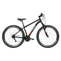Bicicleta MTB Two Niner Velox Aro 29 Parede Dupla com Suspensão Dianteira, Quadro Aço, 21 Velocidades, Preto