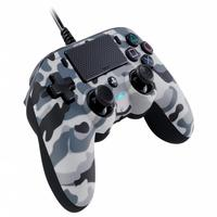 Controle Nacon Wired Compact Controller Camo Grey (com Fio, Camuflado Cinza) - Ps4 E Pc