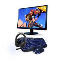 """Kit Pc Gamer Smart Pc, Intel I5, 8gb, GeForce Gtx 1650 4gb, 1tb + Monitor 21.5"""""""