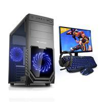Kit Pc Gamer Smart Pc Smt81290 Intel I5 8gb (geforce Gtx 1650 4gb) 1tb + Monitor 21,5