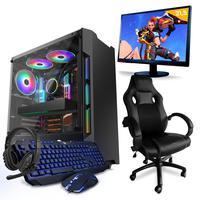 Pc Gamer Compsmart, Intel I5, 8gb (geforce Gtx 1650 4gb), 1tb + Cadeira Gamer - Smt81263