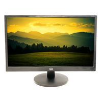 """Monitor Aoc 23.6"""" Led Full Hd, Wva, Vga/hdmi, Vesa, Altura Ajustável - M2470swh2"""