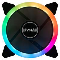 Cooler Mymax Fan 120mm Boreas Para Gabinete Gamer, Led Argb