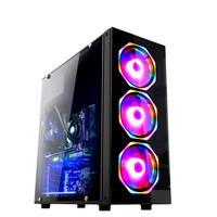 Computador Gamer Fácil Intel Core I5 3470s (terceira Geração) 16gb Gtx 1050ti 4gb Ssd 240gb Fonte 500w