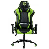 Cadeira Gamer Alto Padrão, Veda Terra, Verde, Elements Gaming