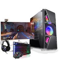 Pc Gamer Completo I5 Gtx 1050 Ssd 480gb Monitor Curvo 23.8