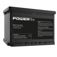 Bateria Powertek 12V 35Ah Preto - EN020
