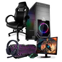 Pc Gamer Completo Neologic Start Nli81835 Amd 3000g 8gb (radeon Vega 3 Integrado) 1tb + Cadeira Gamer