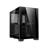 Gabinete Gamer Lian Li, Dynamic Mini Itx, Lateral E Frontal Em Vidro Preto, Black - Pc-o11d
