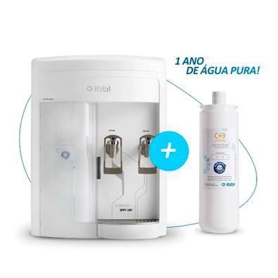 Kit 1 Ano Ibbl - Purificador De Água Fr600 Speciale Branco 110v + Filtro Refil Girou Trocou C+3 24010002 | 52011001 52011001  | 24010002