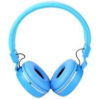 Fone De Ouvido Com Fio Kp 428 Azul