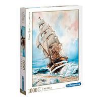 Puzzle 1000 Peças Américo Vespúcio - Clementoni - Importado