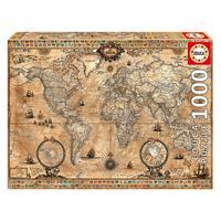 Puzzle 1000 Peças Mapa Do Mundo - Educa - Imp