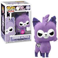 Boneco Funko Pop Tasty Peach Zombie Alpaca Flocked 86