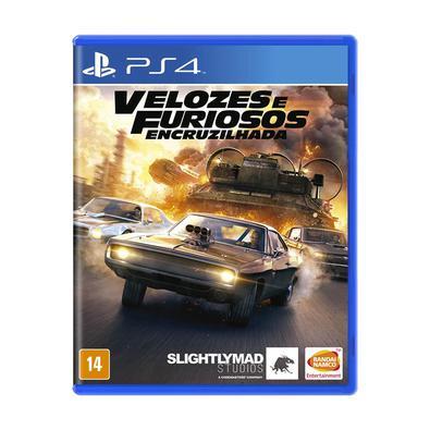 Jogo Velozes e Furiosos: Encruzilhada - Playstation 4 - Bandai Namco Games