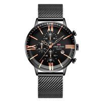 Relógio Masculino Phillip London Analógico Preto - Pl80098613m Pr N - Unico