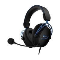 Headset Gamer Hyperx Cloud Alpha S 7.1 Preto E Azul Com Fio - Pc E Ps4