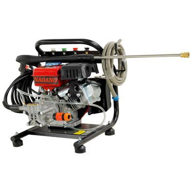 Lavadora De Alta Pressão A Gasolina 2.9hp Partida Manual 3400rpm 1600psi Motor Axial - Nagano