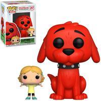 Boneco Funko Pop Clifford Big Dog Red Clifford With Emily 27