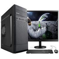 "Computador Completo Fácil Intel Core I5, 8GB, SSD 120GB, c/ Monitor 19"" HDMI Led, Teclado e Mouse"