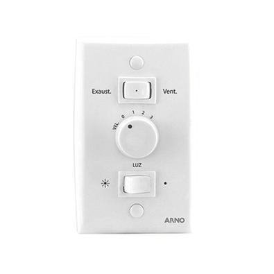 Ventilador Teto Arno Alivio 3 Pás 3 Velocidades Branco 220v - 220v