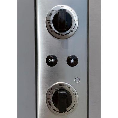 Forno Elétrico De Embutir Nardelli N450 Espelhado 45l 127v 10016339/12 - 127v