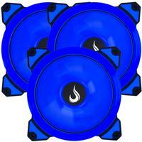 Kit Com 3 Cooler - Fan Rise Mode Galaxy G1 - Led 120mm Azul