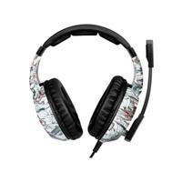Headphone Headset Fone Gamer C/mic Led Onikuma K19 Cam Branc