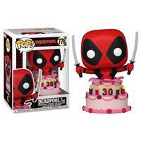 Boneco Funko Pop Marvel Deadpool 30th Deadpool In Cake 776