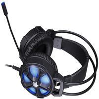 Headset Game Stereo 2 P2+usb H400 Compatível Playstation E Xbox Preto