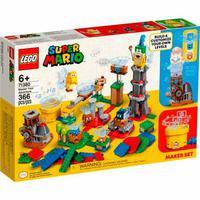 Lego  Super Mario : Pacote De Criação - Domine Sua Aventura - 71380