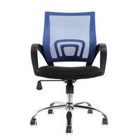 Cadeira De Escritório Diretor Pelegrin Pel-cr11 Preta E Azul