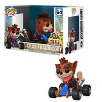 Boneco Funko Pop Crash Bandicoot Crash Bandicoot Nitro Racing 64