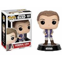 Boneco Funko Pop Star Wars General Leia 107