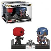 Boneco Funko Pop Marvel Studios Captain America Vs. Red Skull 389