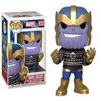 Boneco Funko Pop Marvel Holiday Thanos Holiday 533