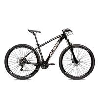 Bicicleta Alumínio Aro 29 Ksw Shimano Tz 24 Vel Ltx Krw20 - 21'' - Preto/prata