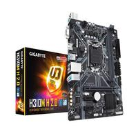 Placa Mãe Gigabyte Intel LGA 1151, DDR4, Micro ATX, H310M H 1.1