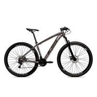 Bicicleta Alumínio Aro 29 Ksw Shimano Tz 24 Vel Ltx Krw20 - 21'' - Grafite/preto Fosco