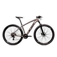 Bicicleta Alumínio Aro 29 Ksw 24 Velocidades Freio  Hidráulico Krw17 - 15.5´´ - Grafite/preto Fosco