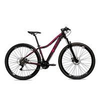 Bicicleta Alumínio Aro 29 Ksw 24 Velocidades Freio A Disco Krw16 - 15.5'' - Preto/rosa