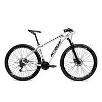 Bicicleta Alumínio Aro 29 Ksw 24 Velocidades Freio A Disco Krw16 - 17'' - Branco/preto
